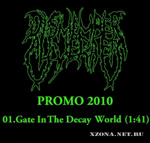 Dismember alive rafts - Gate in the decay world (Promo) (2010)