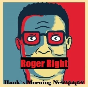 Roger Right - Hank's Morning Newspaper [Single] (2013)
