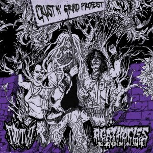 Партия & Agathocles - Crust'&'Grind Protest (2012)