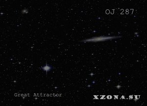 OJ 287 - Great Attractor (2015)