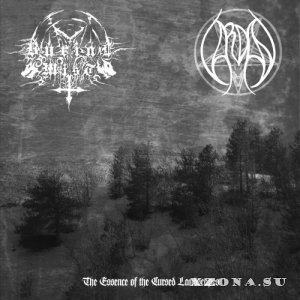 Burial Mist / Vardan - The Essence Of The Cursed Landscapes (Split) (2014)